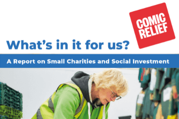Comic Relief Red Shed report on social investment