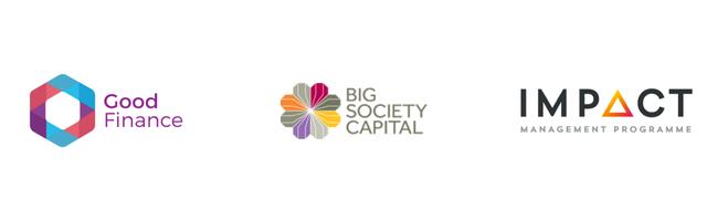 BSC Good Finance Impact Management logos