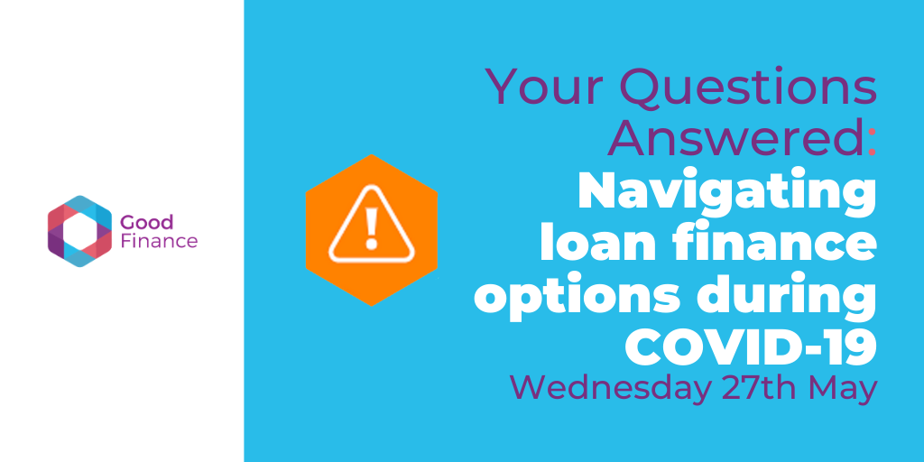 Navigating loan finance options during COVID-19